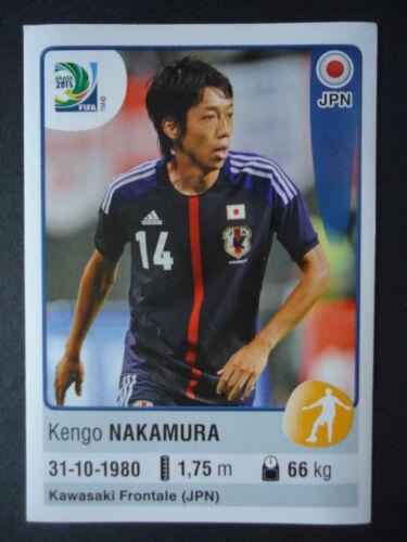 PANINI 73 Kengo Nakamura Giappone confed cup 2013 Brasile