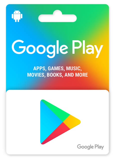 Google play Gift card / Email Delivery