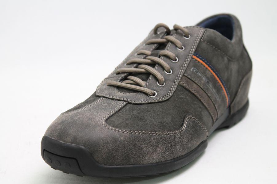 Camel Active Schuh grey Leder Wechselfußbett