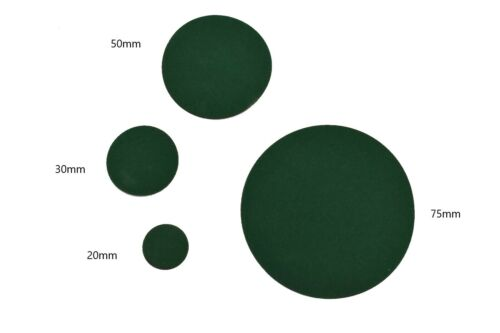 DC-FIX Self Adhesive Velvet Discs Circles With Sticky Back 20mm 30mm 50mm 75mm