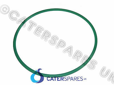 5070010 PIZZA GROUP DOUGH ROLLER GREEN RUBBER ROUND BELT 255X8MM SPARES 3062089