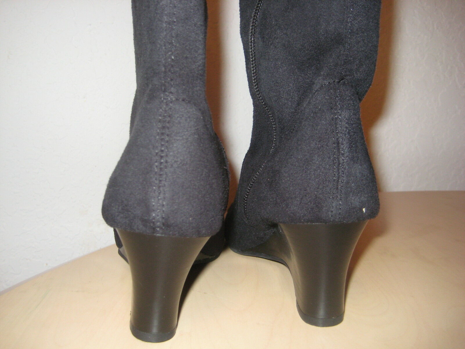 Karen Scott shoes Size 9 M New Womens Lena Black Black Black Fashion Wedge Boots NWB a0d71f