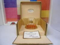 Vintage Joy- Jean Patou Parfume 1.0 Oz / 30 Ml, Baccarat Crystal Bottle, Rare