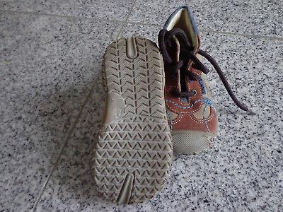 Richter Jungen Schuhe Gr: 21; Beige; Echt Leder