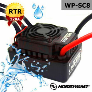Hobbywing EZRUN WP SC8 120A Waterproof Speed Controller Brushless ESC for RC Car