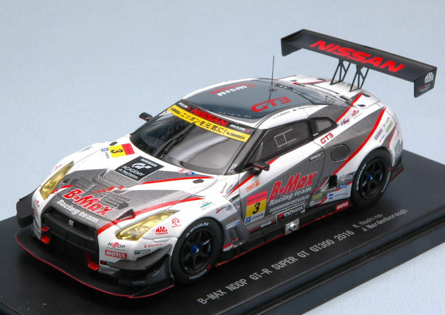 NISSAN GT-R  3 4th SUPER gt300 2016 K. Hoshino J. Mardenborough 1 43 Model