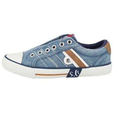 Herzhaft S.oliver 5-43205-22 Schuhe Sport Freizeit Sneaker Halbschuh Denim 5-43205-22-802