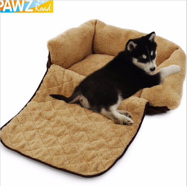 Pet Dog Bed Soft Sofa Cushion 3 Way Use Dog Cat Sofa Couch Kennel Pad Bed Size S