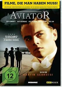 Aviator-DVD-NEU-OVP-Leonardo-DiCaprio-Jude-Law-von-Martin-Scorsese