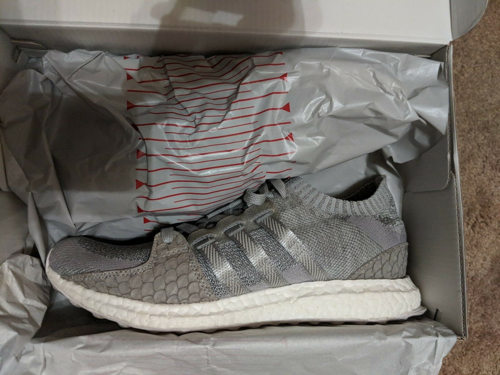 Adidas EQT Support Boost King Push Pusha T Size 9 Lightly Worn