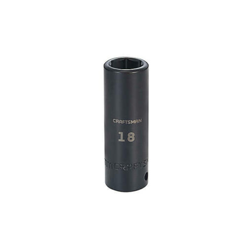 Craftsman deep 1//2 in Drive Laser Etch SAE//Metric Impact Socket Choose