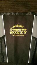 JACK DANIEL'S TENNESSEE HONEY DRAWSTRING BAG GYM BAG - MESH & NYLON  RARE 18x14