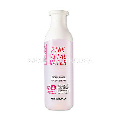 [ETUDE HOUSE] Pink Vital Water Facial Toner 180ml / Moisture toner for skin