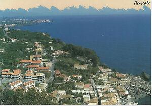 CARTOLINA-SICILIA-SICILY-POSTCARD-ACIREALE-VEDUTA-PANORAMICA-DALLA-COSTA