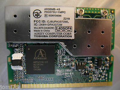 Forte Toshiba Satellite Pro A60 Spare Parts Askey Computer Tested