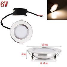1PCS 6 Watt LED Ceiling Recessed Panel Light Downlight Warm White Lamp 220V 110V