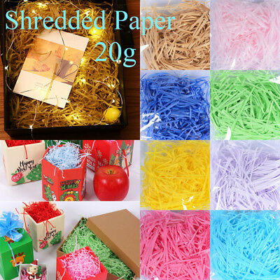 Crinkle Cut Confetti Gift Box Filler Sisal Decor Raffia Wrapping Supplies
