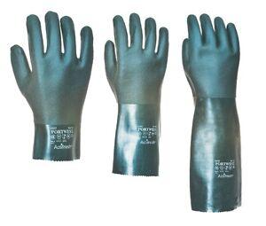 Portwest-Double-Trempe-PVC-Gantelet-Securite-Gants-Differentes-Longueurs-27-35