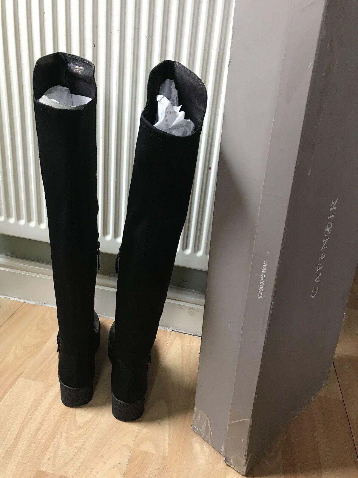 Zapatos especiales con descuento CAFeNOIR Women's Leather+Elastane Boots Size 38, Look All Photos Please