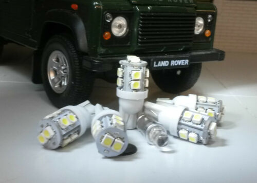 Xenon LED Bianco Cruscotto//Contachilometri Land Rover Defender 90//110 Tdi Kit