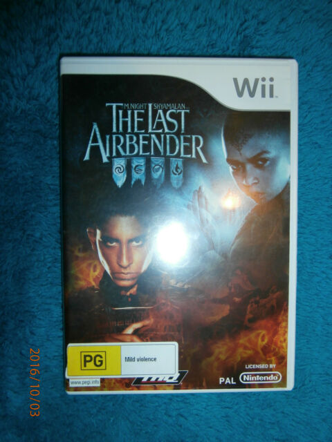 The Last Airbender (Nintendo Wii, 2010) PAL game action M Night Shyamalan