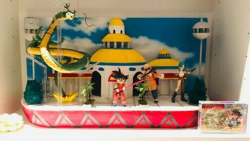 Diorama Decoration dragon ball Palazzo Del Supremo goku S.h. Figuarts