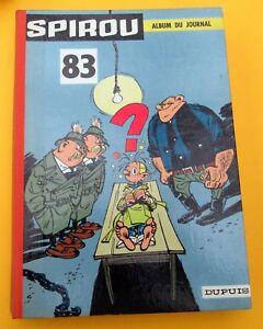SPIROU-RELIURE-EDITEUR-NO-83-1961-TRES-BON-ETAT-AVEC-MINI-RECITS