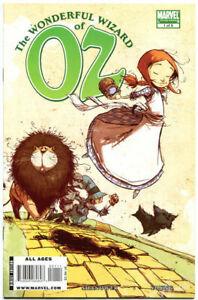 WONDERFUL-WIZARD-of-OZ-1-NM-Eric-Shanower-2009-Dorothy-Lion-Tinman