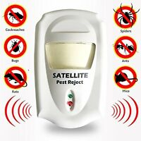 Ultrasonic Pest Reject Repeller With Led Night Light---for Indoor, Use Ideal...