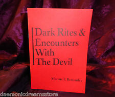 DARK RITES & ENCOUNTERS WITH THE DEVIL Finbarr Occult Grimoire Magic Magick