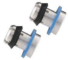 2 x alluminio Prestige Pentola a Pressione Valvola di sicurezza / SPINA PER 4,5,6 Ltr a cupola alto