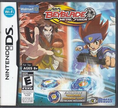 Beyblade: Metal Fusion - Nintendo DS - Game Case Only - No ...