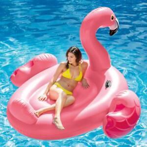 Isola-gonfiabile-Grande-Fenicottero-Intex-56288-giochi-cavalcabili-piscina-Rotex