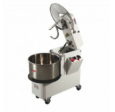 Gastro & Nahrungsmittelgewerbe 100% Wahr Teigknetmaschine Variable Geschwindigkeit Teigmaschine Spiralmixer 33l Bäckereiausstattung 25kg Die Neueste Mode