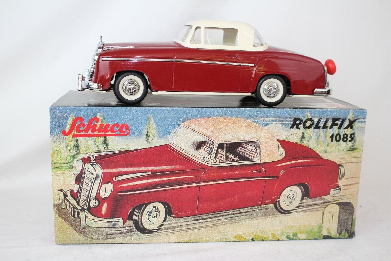 Schuco Juguetes Rollfix 1085 , 597ms Mercedes Benz 220 Se Caja Original