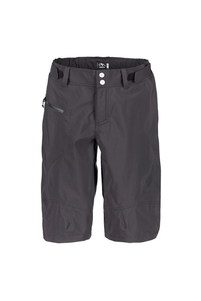 Maloja Pantalons Imperméables de Randonnée Nabalm. black Étanche Respirant
