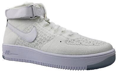 Nike Air Force 1 Ultra Flyknit Mid Herren Sneaker 817420-100 Gr 42-45 NEU OVP