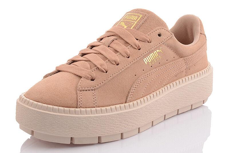 Puma Platform trace wn 's cortos señora zapatos casual bucle 36583005