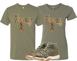 8cf43b12aaef We Will Fit shirt to match JORDAN 11 RETRO NEUTRAL OLIVE LUX green ...