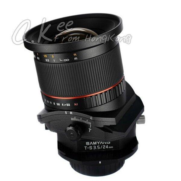 Samyang 24mm f/3.5 ED AS UMC Tilt & Shift T-S Lens for Sony Alpha mount A77 A99