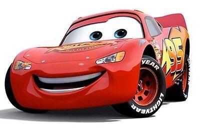 Cars Lightning McQueen Cake Topper Round