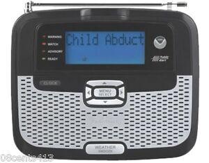 radio shack 12 262 desktop weather radio w alarm clock and rh ebay com Radio Shack 12 250 Manual Radio Shack 12 250 Manual