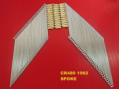HONDA CB350F CB400F FRONT D REAR JAPAN SPOKE 72PCS