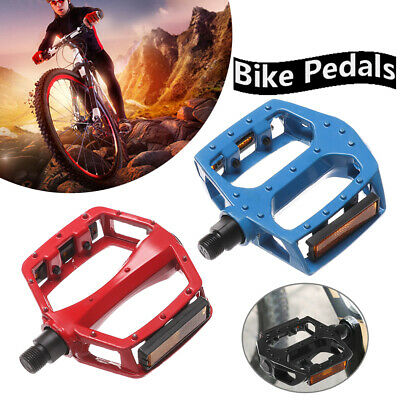 "9//16/"" Road MTB Mountain XC AM Bike Pedal flat Platform Bicycle Pedal Lightweight"