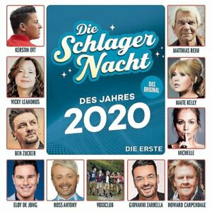Various-Die-Schlagernacht-des-Jahres-2020-Die-Erste-CD-NEU-OVP