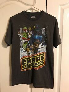 929ea0aadef Men s Star Wars The Empire Strikes Back T-shirt Retro Small S New ...