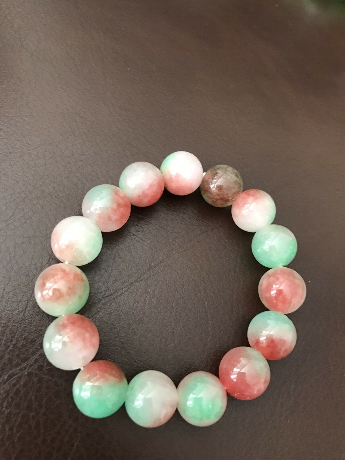Brand new jade beads bracelets one size for all