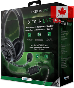 DREAMGEAR-DRMXB16617-Xbox-One-Wired-Headset-with-Microphone-Black
