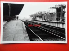PHOTO  UKNOWN RAILWAY STATION - CAN YOU IDENTIFY IT? 28