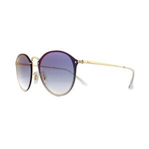 72522f98ec0 Ray-Ban Sunglasses Blaze Round RB3574N 001 X0 Gold Blue Gradient Red ...
